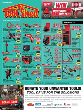 The Tool Shed deals